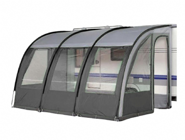Streetwize LWPP2C 390 Charcoal Ontario Light Weight Caravan Porch Awning